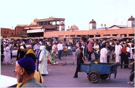 The Djemmaa el-Fna Square – Marrakesh