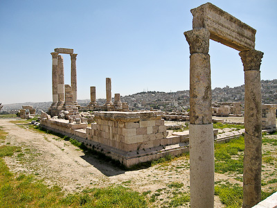 Temple of Hercules at Citadel hill – Amman