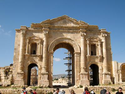 Hadrian's Arch –Jerash