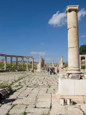 Oval Plaza –Jerash