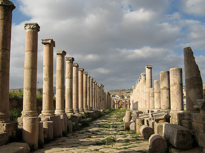 Colonaded Street – Jerash