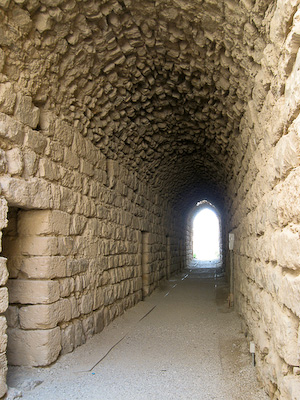 Tunnels within Karak Castle