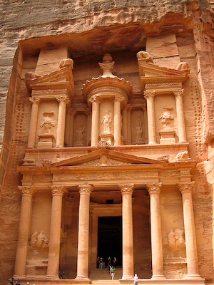 "Al Kazneh (""The Treasury"") at Petra"