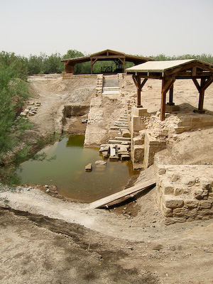 Baptism Site at Bethany-beyond-the-Jordan