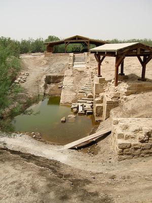 Baptism Siteat Bethany-beyond-the-Jordan