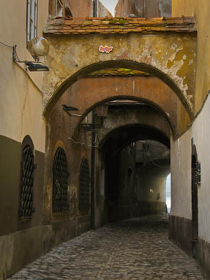 Alleyway – Old Town Ljubljana